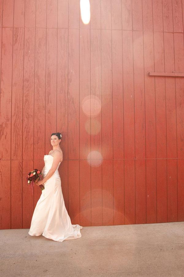 Lovely Barn Yarn Wedding