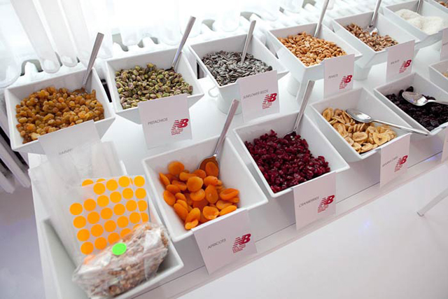 Modern And Yummt Trail Mix Buffet