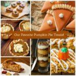 Our Favorite Pumpkin Pie Treats!