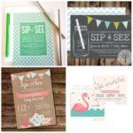 Sip and See invitations