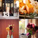 Vineyard Themed Wedding Decor