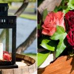 Vineyard theme wedding details