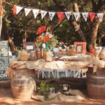 We love this wedding Trail Mix Bar!