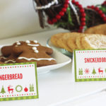 Colorful Cookie Exchange Free Printables