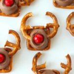 DIY Pretzel reindeer