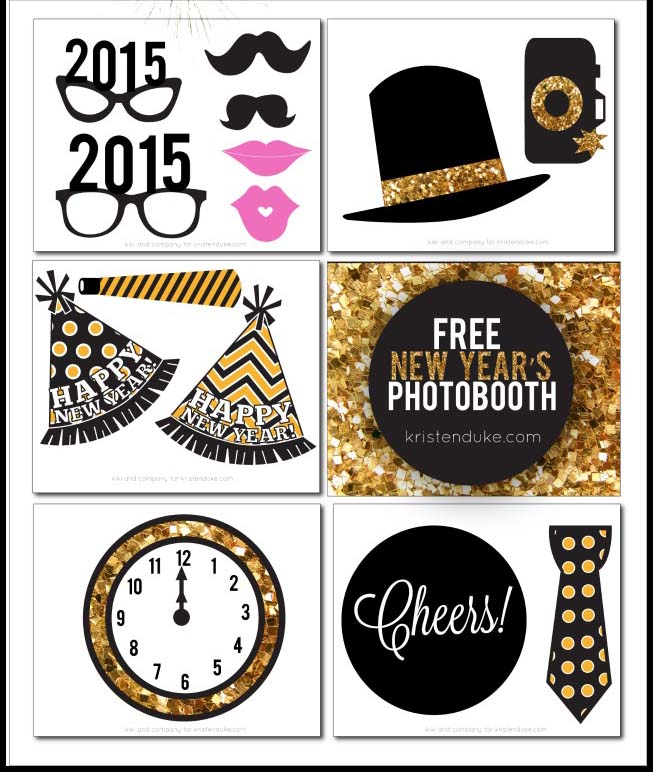 darling free printables for new years