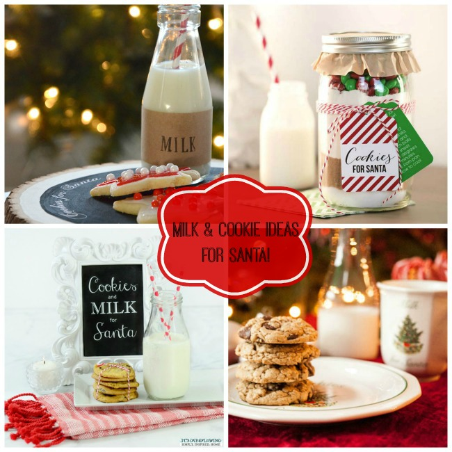 Fabulous Milk & cookie Ideas For Santa