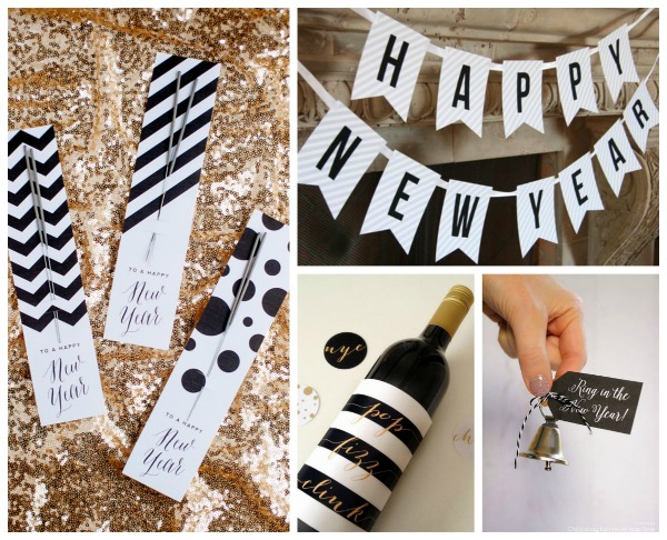 Free Printables For new Years Eve- B. Lovely Events