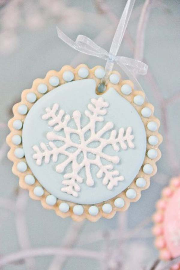 Lovely Snowflake Cookie!
