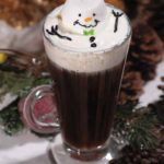 Melted Snowman Coffee For Christmas