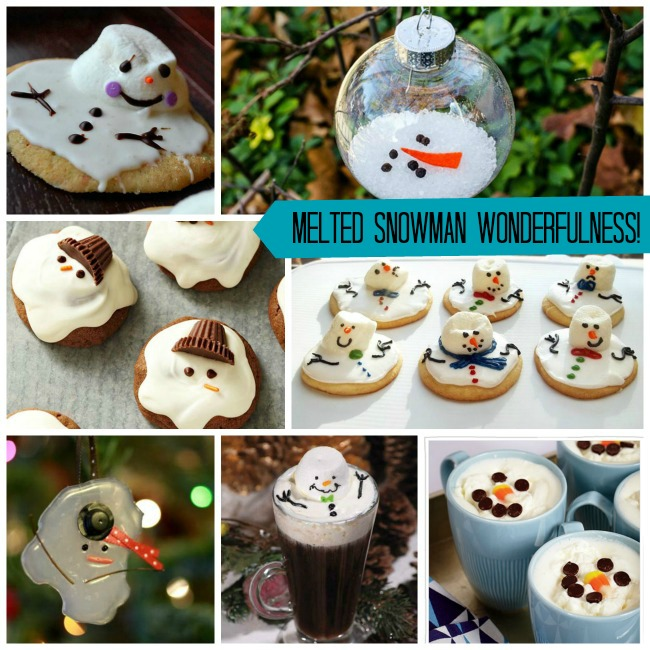 Melted Snowman Ideas