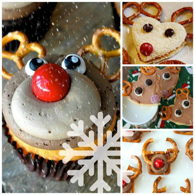 Reindeer Treats with Pretzels