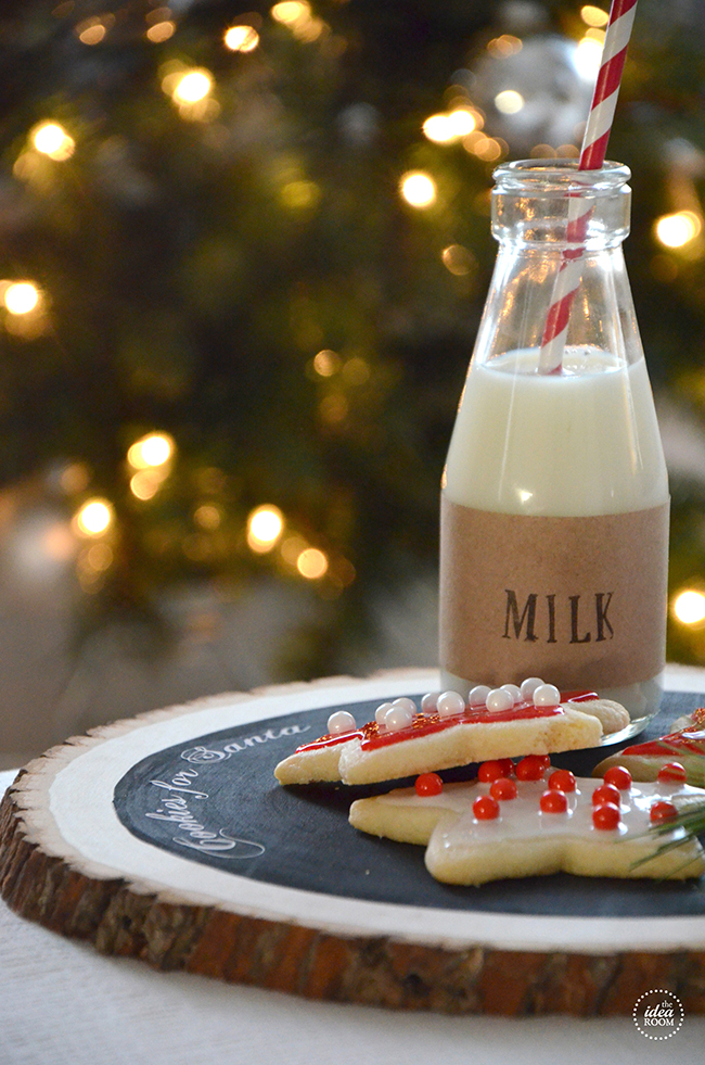Rustic & Cute Cookies For Santa