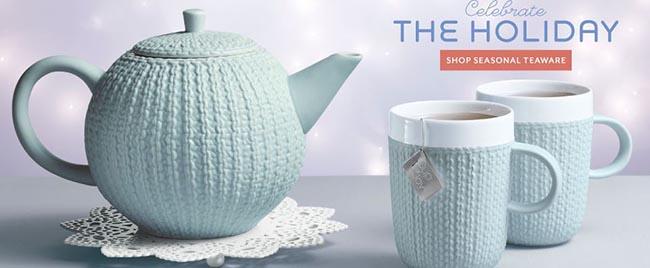 Sweater Tea Mugs & Tea Pot- So cute!