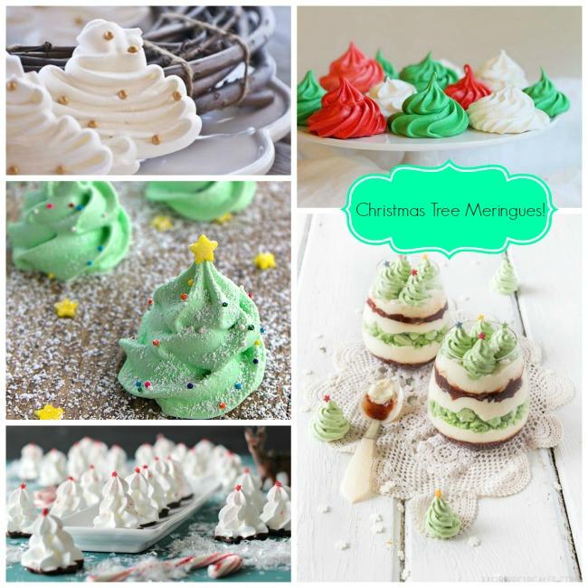 we love christmas tree meringues - Christmas Tree Meringues