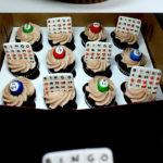 Adorable Bingo cupcakes!