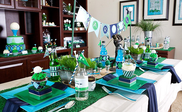 Amazing-Golf-party-love-everything-on-this-table