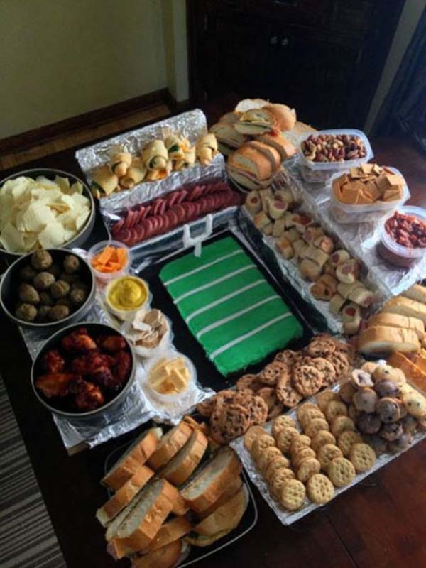 Awesome Football Snackadium