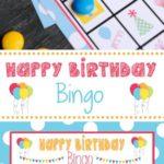 Birthday Bingo Cards!