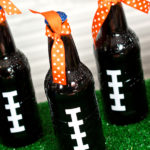 Cute Football party drinks