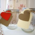 Heart Canning Jars For Favors!