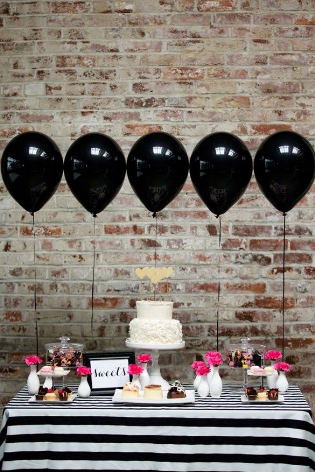 Kate spade themed bridal shower