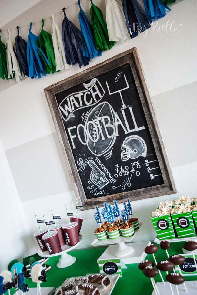 Super Cool Football Party!