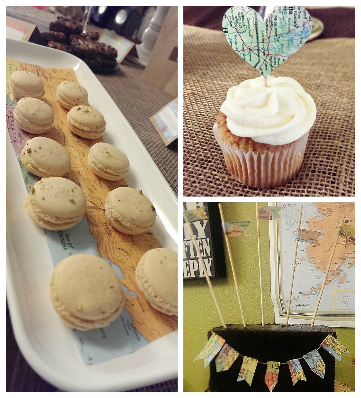 Travel Baby Shower Treats - B. Lovely Events