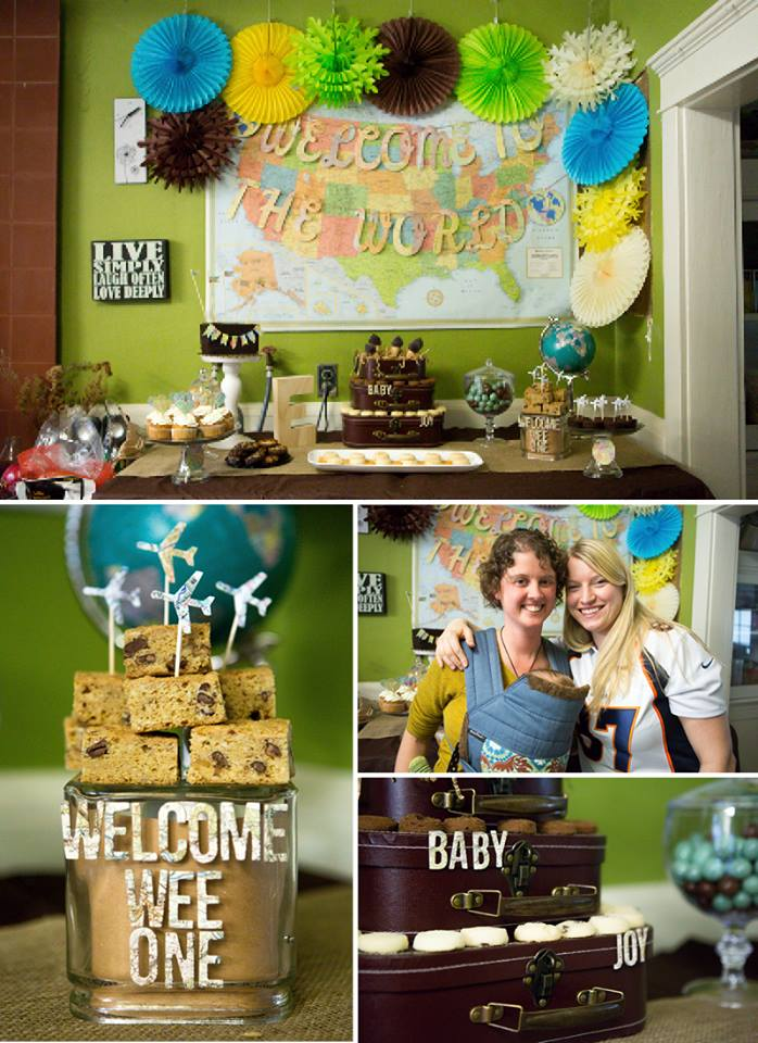 Welcome to the world baby shower!