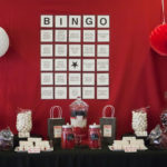 Bingo themed party- so cute