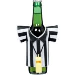 referee bottles for a football party!