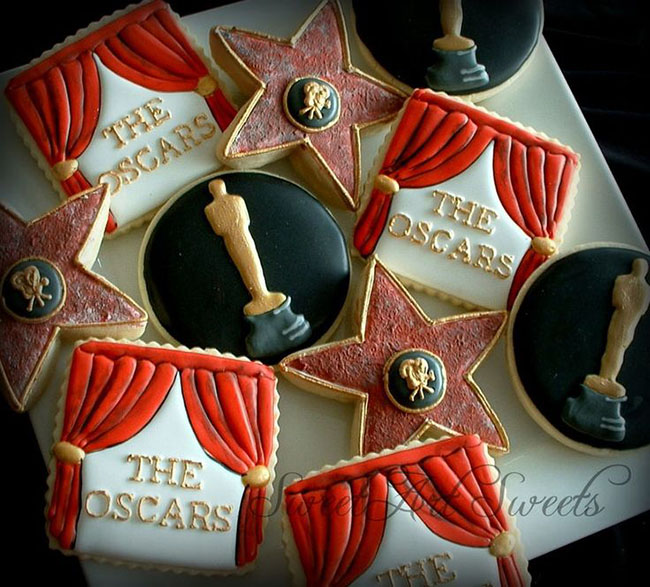 Amazing oscar Party Cookies!