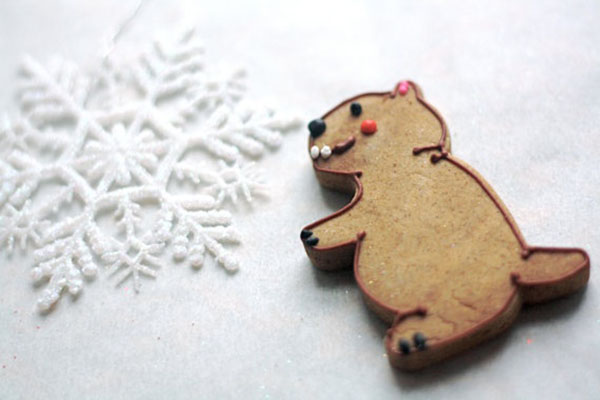 Cute Groundhog cookies