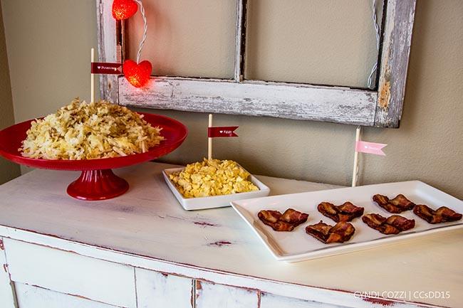 Cute Valentines Day Breakfast
