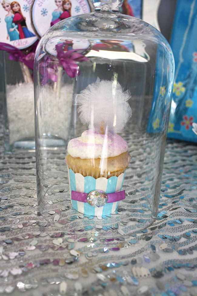 Frozen themed Party Cupcakes