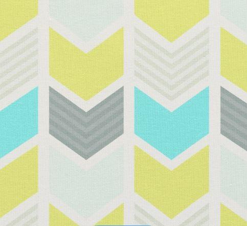 Geometic Zazzle fabric