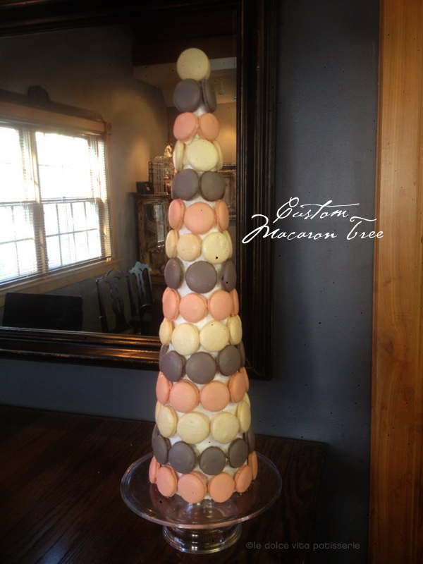 Love this Macaroon tree For Valentines Day