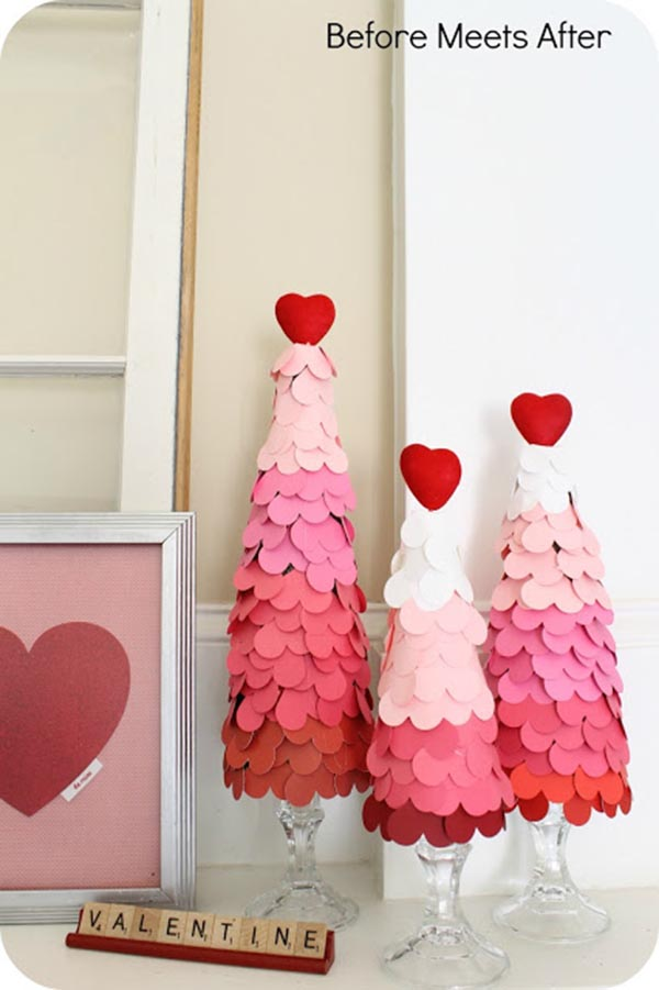 Lovely Valentines Day Trees!