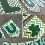 Lucky St. Patricks Day Banner