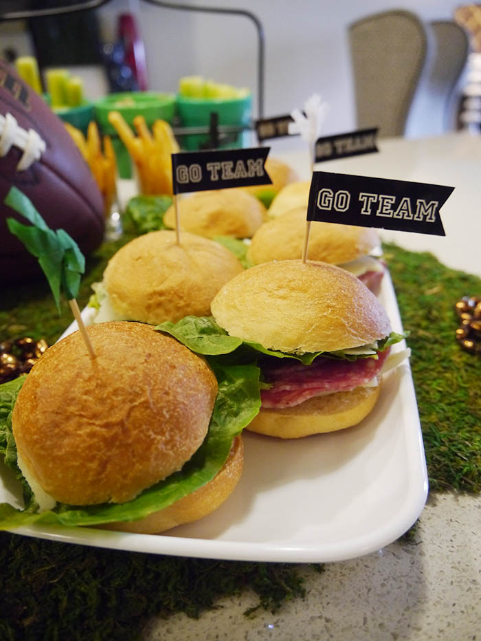 Mini Salami Sandwiches For Super Bowl Snacks
