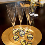 Oscar Party Champagne tags