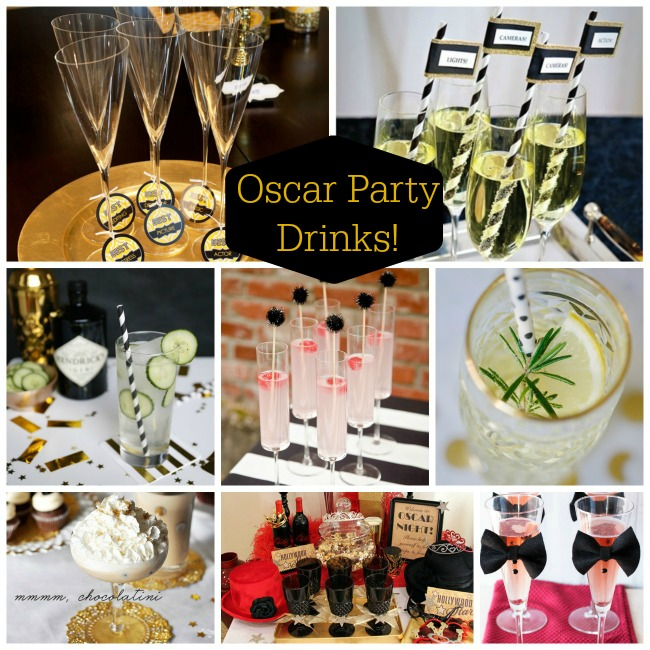 Oscar Party Drinks! - B. Lovely Events