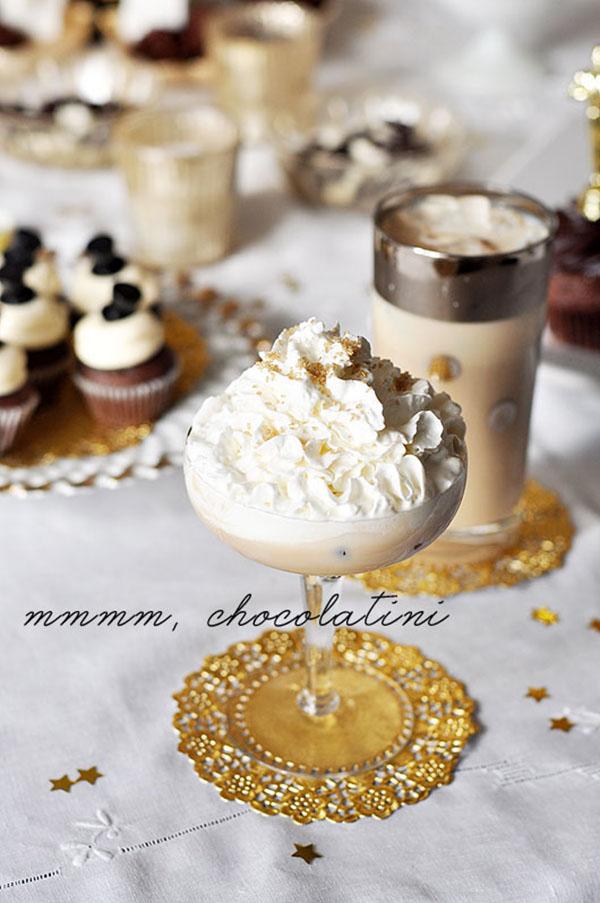 Oscar party chocolatini