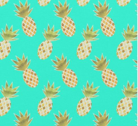Pinapple fabric zazzle