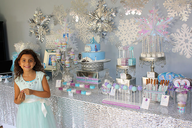 Too Cute Frozen Birthday Party