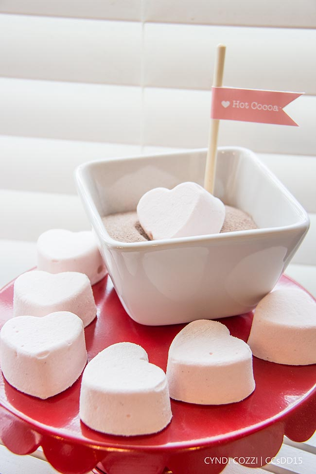 Valentines Day Heart Marshmallows