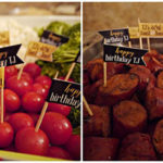 40th Roast And Toast Food and details! B. Lovely Events