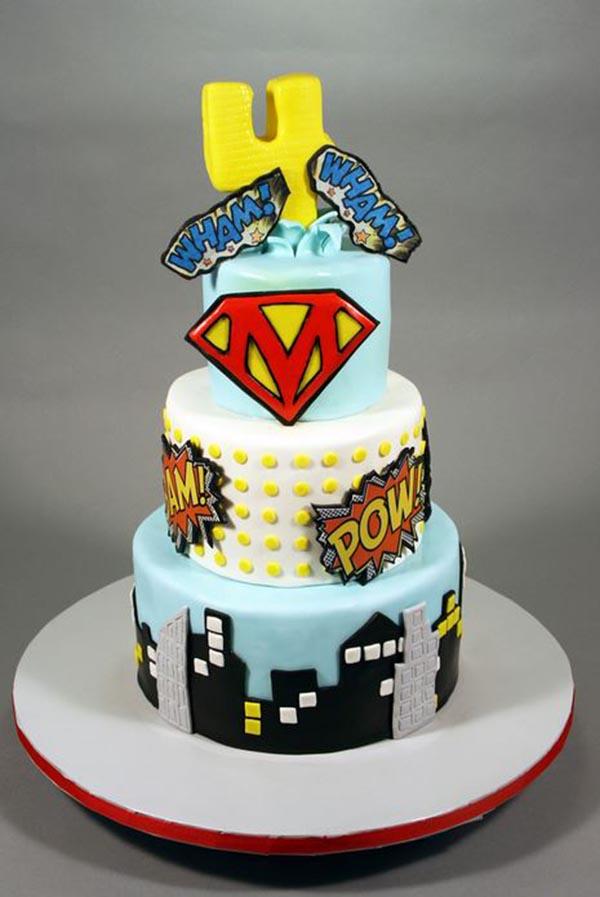 Boys Superhero Party B Lovely Events