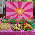 Cute Food ideas for girls superhero party