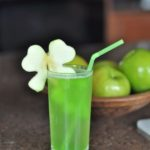 Cute Shamrock Drink For St. patrick's Day